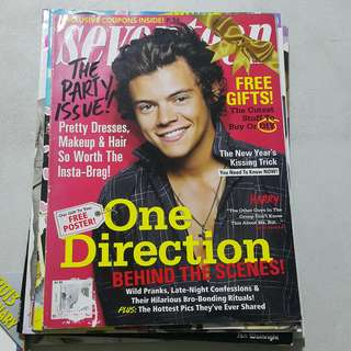 Seventeen mag Harry Styles