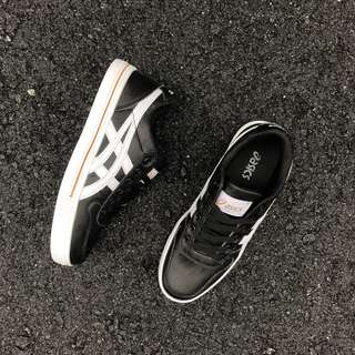 ASICS AARON LEATHER BLACK