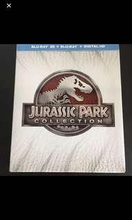 Jurassic Park blu ray boxset