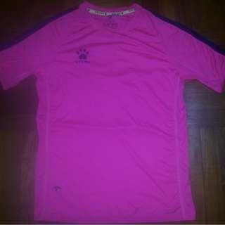 Kelme Shocking Pink Jersey No.87