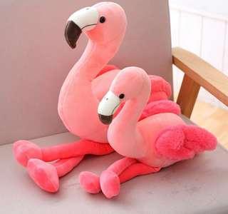 限量❗韓國毛絨紅鶴沙發房間裝飾抱枕