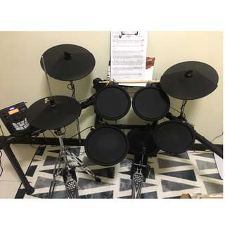 9 month new digital drum set Muza DD650RX