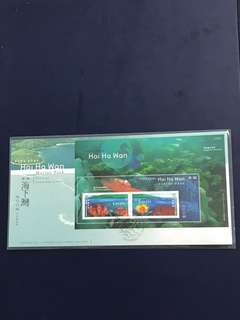 Hong Kong china Miniature Sheet FDC As jn Pictures