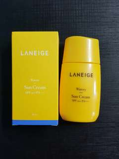 New 50ml Laneige Watery Sun Cream Sunblock