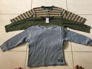 Long sleeves Shirt for Rainydays (Kids)size 3T