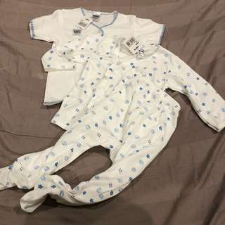 (Deal) Fiffy sleepwear 3 pcs RM15 only (new)