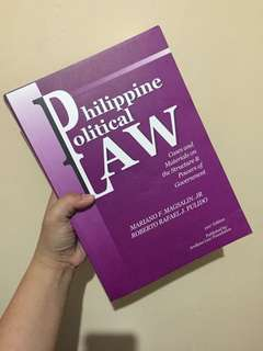 New! Magsalin Pulido Philippine Political Law