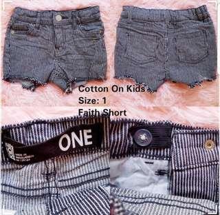 Cotton On Kids Striped Pant 12M