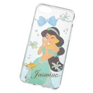 Disney Aladdin Jasmine 阿拉丁 茉莉公主 iPhone 6 7 8 全包邊 Case