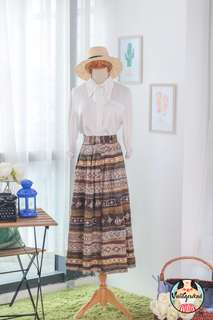 🍿 Vintage Midi Skirt VS1405