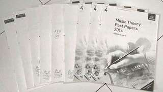 9 sets Grade 4 ABRSM Theory of Music Exams (Year 2006 to 2014)