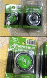 M7 Genuine Oil Filler Cap And Radiator Cap