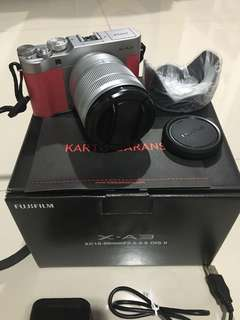 Fujifilm X-A3 XA3 Pink Mirrorless