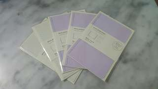 Moleskin Note Card & Greeting Cards with envelope