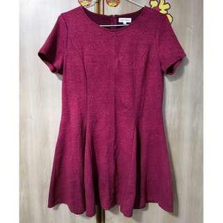 🎠 FLASH DEAL - Plus Size XL Floral Embossed Rose Dolly A-line Skater Korean Ulzzang Dress