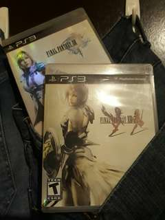 Final Fantasy 13 and XIII-2