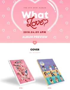 TWICE WHAT IS LOVE ALBUM (A/B)