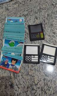 Dragon ball z game cards