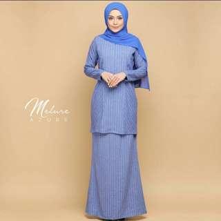 Baju Kurung Moden Melure Azure byzoura