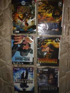 Ps2 CD shooting games collection