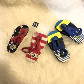 Oshkosh & Carters pre walker sandals