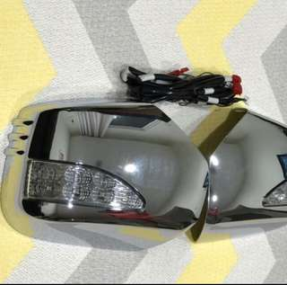 Mitsubishi Pajero Sport Mirror Cover With LED ( Genuine Parts)