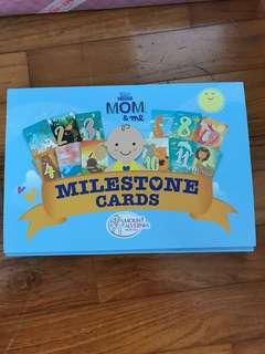 BAby Milestones Cards
