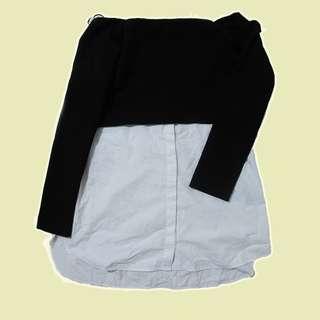 [Zara] Off the shoulder Top