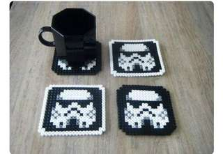 Starwars Stormtrooper coasters