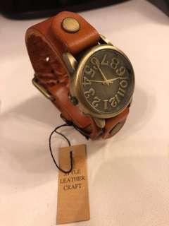 日本製皮手錶
