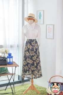 🍿 Vintage Midi Skirt VS1403