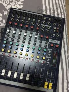 soundcraft mixer epm6