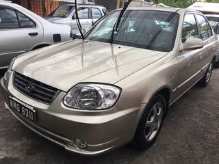 Hyundai Accent 1.5 (A) 2004 Perfect Condition