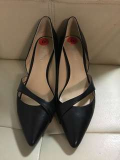 Women's Working Shoes Leather
