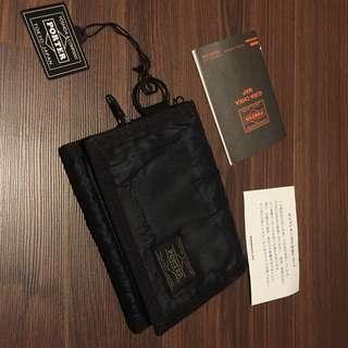 日本 吉田包 PORTER 短夾 尼龍材質 MADE IN JAPAN 東京購入