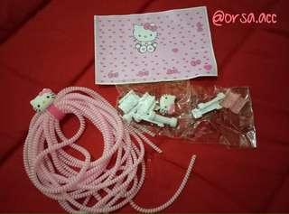 Paket Pelindung kabel karakter