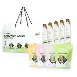 Atomy Sandwich Laver (one box of eight packets)