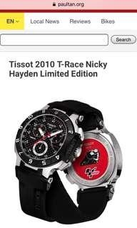 MENS TISSOT T-RACE MOTOGP 2010 LIMITED EDITION CHRONOGRAPH WATCH T0484172720100