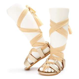 NEW!!! lace up sandals