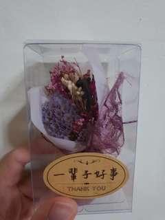 Mini dried bouquet