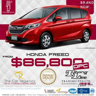 Honda FREED ( 2018 )( NEW )( MPV )( 7 SEATER )( OPC )( ROPC )( WEC )