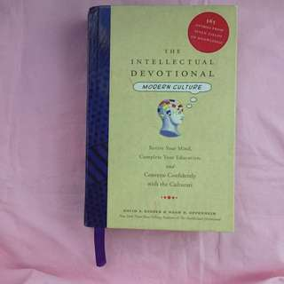 FREE SHIPPING! The Intellectual Devotional: Modern Culture