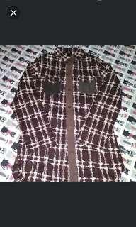 Brown blouse