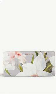 Ted Baker Anniie Chatsworth leather purse
