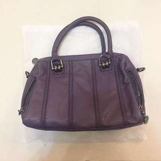 Elegance purple bag NEW