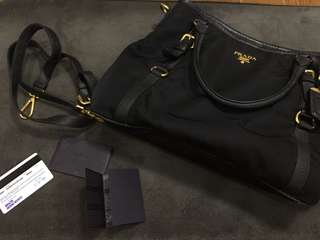 Authentic Prada Tessuto BR4993