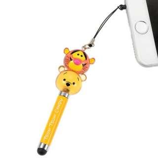 Disney 迪士尼 Pooh 維尼 智能電話 輕觸筆