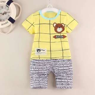Cute Bear Baby Boy Sets