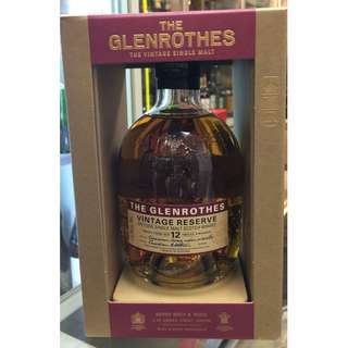 The Glenrothes – Vintage Reserve 12 Years Old
