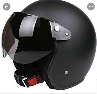 Tinted Visor for 3 button helmets